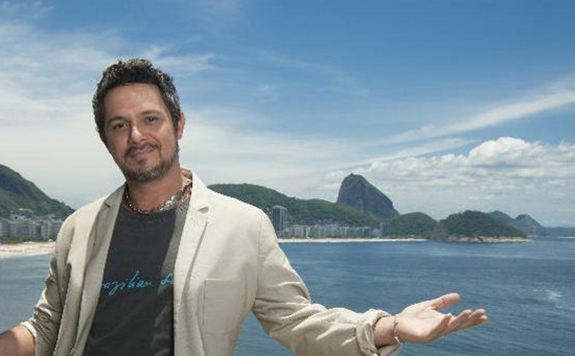 Ale no Rio com camisa Brazilian Soul - presente da Galera